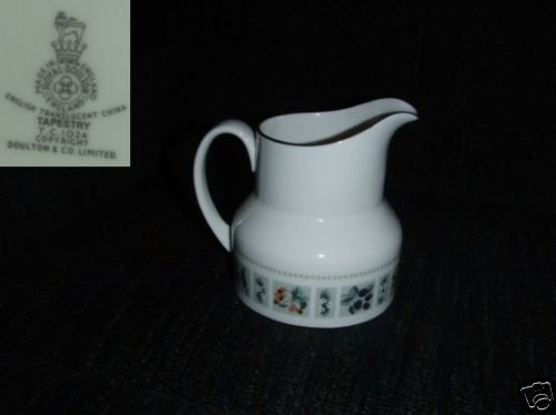 Royal Doulton Tapestry 1 Cream Pitcher ( Creamer )