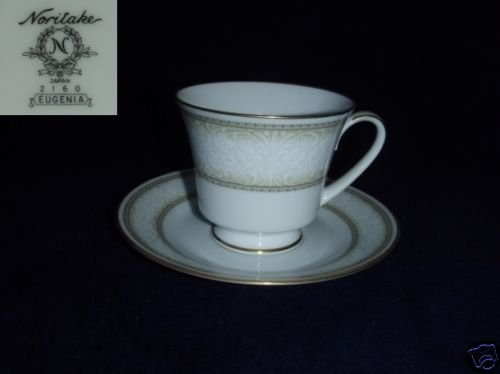 Noritake Eugenia 5 Cup and Saucer Sets