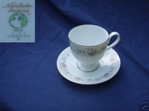 Noritake Thornton 4 Cup and Saucer Sets
