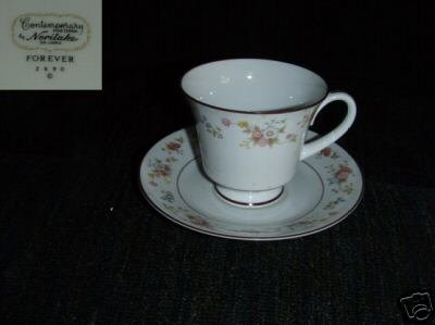Noritake Forever 5 Cup and Saucer Sets