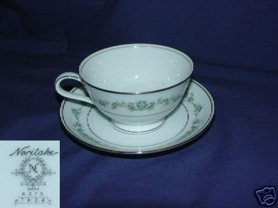 Noritake Thea 1 Cup and Saucer Set