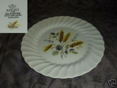 Myott Staffordshire Wheat 1 Dinner Plate