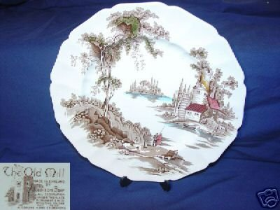 Johnson Brothers The Old Mill 1 Dinner Plate