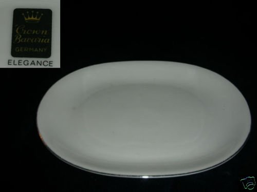 Crown Bavaria Elegance 1 Oval Serving Platter