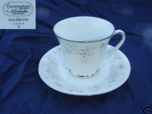 Noritake Holbrook 4 Cup and Saucer Sets