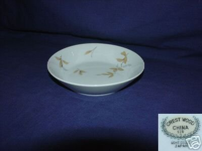 Crest Wood China Monticello 7 Fruit Bowls