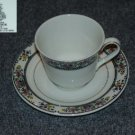 Royal Doulton Tavistock 1 Cup and Saucer Set