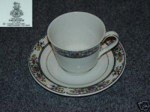 Royal Doulton Tavistock 1 Cup and Saucer Set