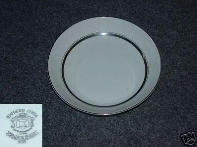 Empress (Japan) Crown - Platinum 4 Coupe Soup Bowls