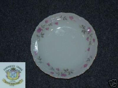 Empress Dresdina 3 Soup Bowls