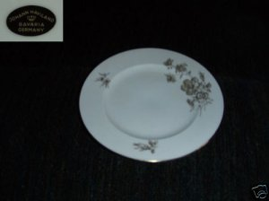 Johann Haviland Twilight 4 Bread and Butter Plates New