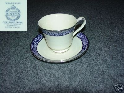 Minton Mandeville 1 Cup and Saucer Set