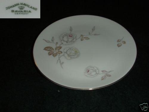 Johann Haviland Dawn Rose 5 Dinner Plates