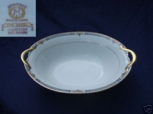 Noritake The Basel 1 Oval Vegetable Serving Bowl 9 3/8""