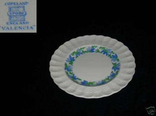 Spode Copeland Valencia - Blue / Green 1 Salad Plate