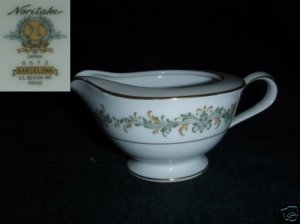 Noritake Barcelona 1 Cream Pitcher ( Creamer )