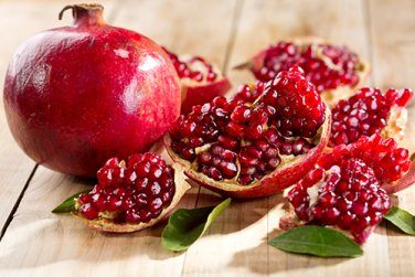 Punica Granatum 100 Seeds, Pomegranate Edible Fruit Shrub Tree Bonsai