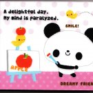 Japan Kamio Dreamy Friends Panda Mini Memo Pad