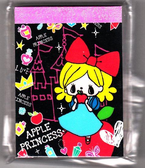 Japan Kamio Apple Princess Mini Memo Pad