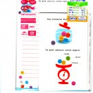 Japan Candy Jar Letter Set with Stickers