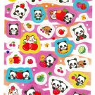 Crux Japan Panda and Fruits Sticker Sheet SALE