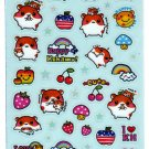 Q-Lia Japan Happy Kohamu Sticker Sheet SALE