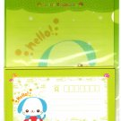 Japan Happy Animals Puppy Letter Set in Folder Kawaii
