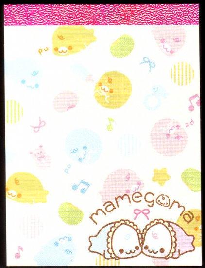 San-X Japan Mamegoma Babies Mini Memo Pad (B) Kawaii