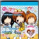 Crux Japan Girls Music Band Mini Origami Memo Pad Kawaii