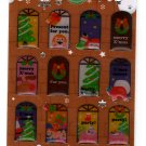 Mind Wave Japan Winter Selection Christmas Epoxy Sticker Sheet Kawaii