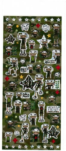 Q-Lia Japan Cool Punk Sticker Sheet Kawaii