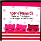 Kamio Japan Pop'n Friends Pigs Mini Memo Pad Kawaii