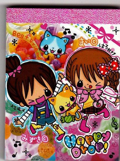 Q-Lia Japan Happy Drop Mini Memo Pad Kawaii