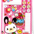 Daiso Japan Love Usa Letter Set with Stickers Kawaii