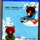 Kamio Japan Happy Memorial Sky Mini Memo Pad Kawaii