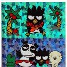 Sanrio Japan Bad Badtz Maru Prism Big Sticker Sheet 1998 Rare Kawaii