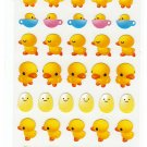 San-X Japan Chicks and Eggs Sticker Sheet Kawaii