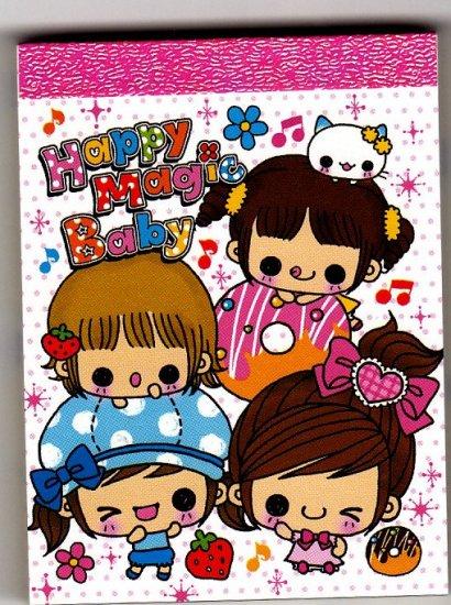 Kamio Japan Happy Magic Baby Mini Memo Pad Kawaii