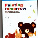 Crux Japan Painting Tomorrow Mini Memo Pad (B) Kawaii