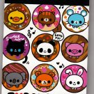 Q-Lia Japan I Love Doughnut Mini Memo Pad Kawaii