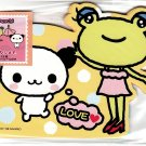 Sanrio Japan Pankunchi Diecut Memo Sheet Set Kawaii
