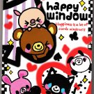Q-Lia Japan Happy Window Memo Pad Kawaii