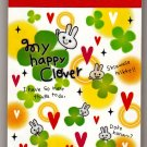 Mind Wave Japan My Happy Clover Mini Memo Pad Kawaii