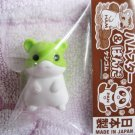 Iwako Japan Hamster Diecut Eraser (Green) Kawaii