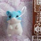 Iwako Japan Hamster Diecut Eraser (Blue) Kawaii