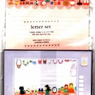 San-X Japan Palette Diecut Letter Set (A) Kawaii