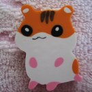 Lemon Japan Hamster Diecut Eraser (Orange) Kawaii