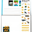 Eric Carle 10 Little Rubber Ducks Letter Set with Stickers Kawaii