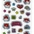 Q-Lia Japan Happy Kohamu Hamster Sticker Sheet Kawaii