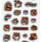 Q-Lia Japan Hamster Dim Sum Sticker Sheet Kawaii